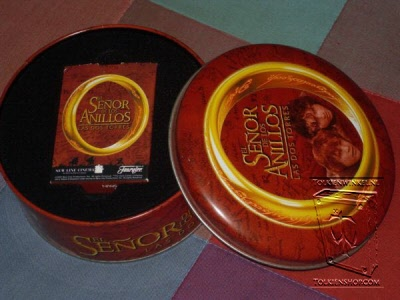 The Lord of the Rings the Fellowship of the Ring the Two Towers Limited Edition Collector Tin /& Two Decks of Playing Cards