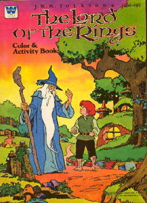 the lord of the rings color activity book - Lord Of The Rings Coloring Book